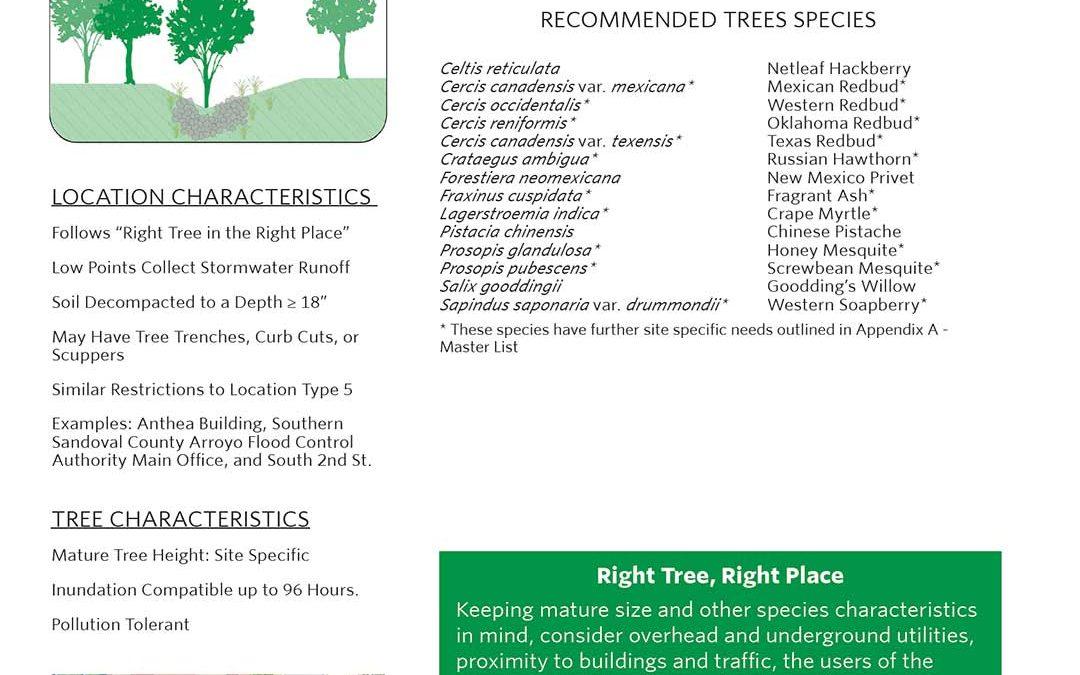 Climate Ready Trees Albuquerque Location 1